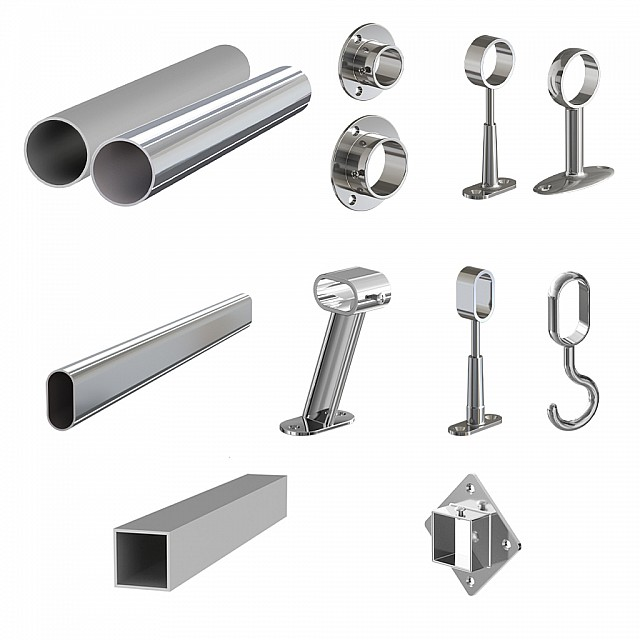 WORDROBE TUBES AND FITTINGS